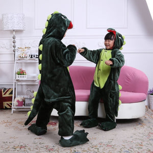 Godzilla The Green Dinosaur Kids Onesie | Onesieful