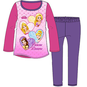Disney Princess Dreams Official Kids Pyjamas