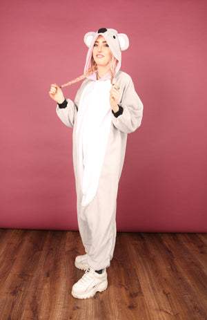 Grey Koala Onesie | Onesieful