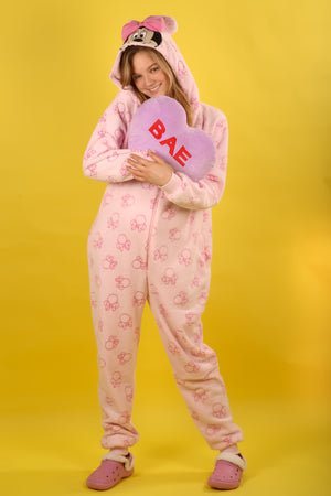 Pink Minnie Mouse Adult Primark Onesie