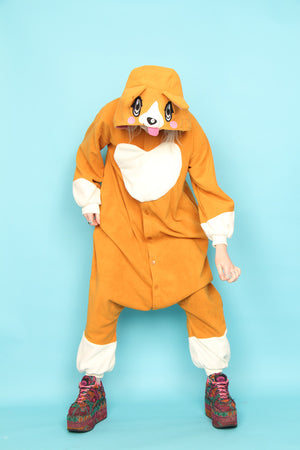 The Queen's Corgi Onesie | Onesieful
