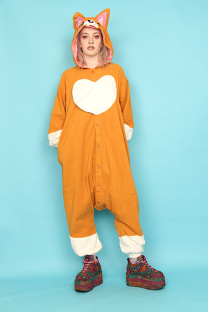 The Queen's Corgi Premium Onesie | Onesieful