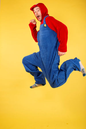 Super Mario Brother's 'Mario' Mens Onesie | Primark
