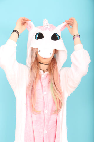 Pretty Pink Unicorn Onesie | Onesieful