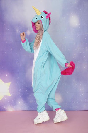Premium Royale Blue Unicorn Onesie | Onesieful