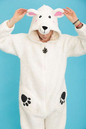 Percy the Polar Bear Onesie | Primark