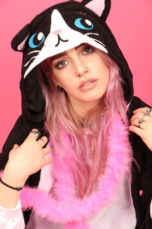 Premium The Cat's Meow Cat Onesie | Onesieful