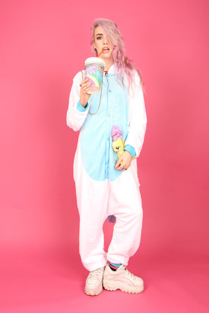 Blue Unicorn Onesie | Onesieful