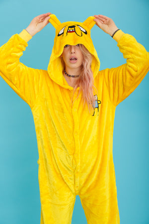 Jake The Dog Adventure Time Onesie | Onesieful
