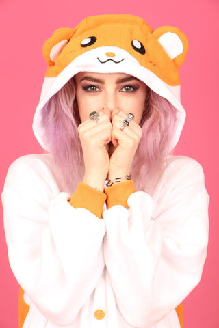 Happy Hamster Onesie | Onesieful
