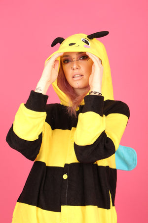 Busy Bumble Bee Onesie | Onesieful