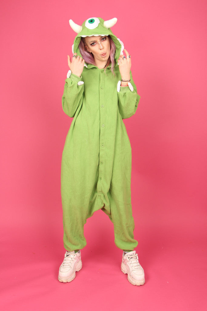 c11540a24a38 Monster s Inc. Mike Wazowski Onesie