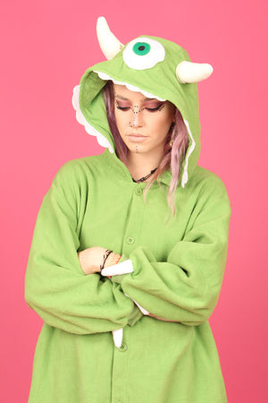 Monster's Inc. Mike Wazowski Onesie | Onesieful