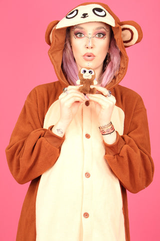 Cheeky Monkey Onesie | Onesieful