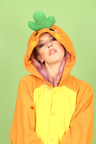Crazy Carrot Onesie | Onesieful
