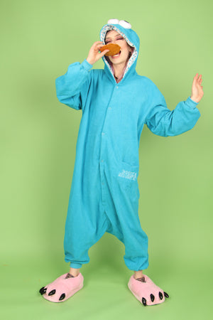 Cookie Monster Onesie | Onesieful
