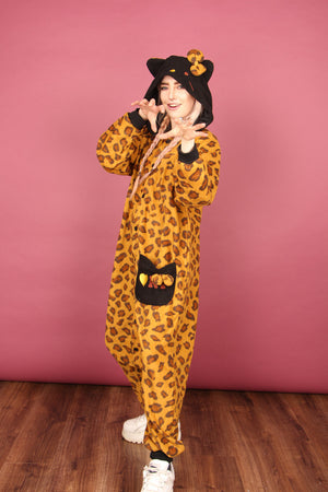 Hello Kitty Jungle Queen Onesie | Onesieful