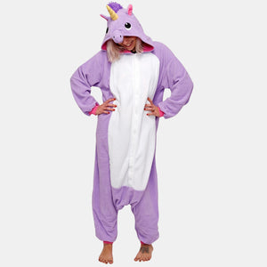 Premium Purple Unicorn Onesie | Onesieful