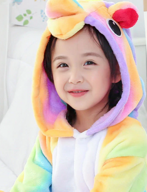 Cozy Rainbow Kids Onesie
