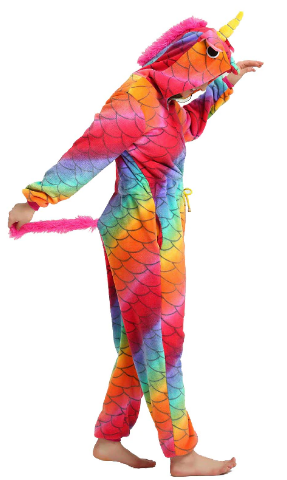 Lola Red Unicorn Adult Onesie | Onesieful