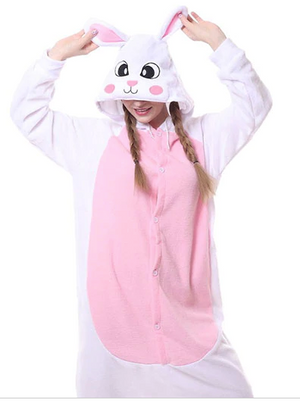 Mia the Pink Bunny Onesie | Onesieful