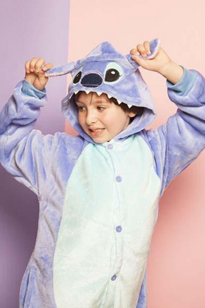 Wacky Stitch Kids Onesie | Onesieful