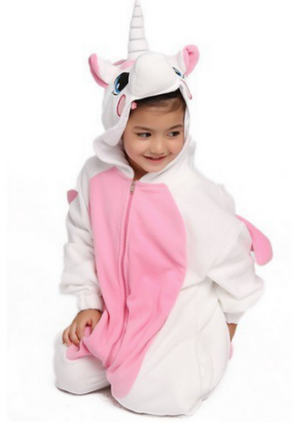 Pretty Pink Unicorn Onesie Kids | Onesieful
