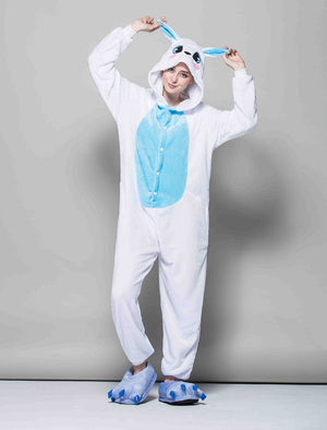 Blue Rabbit Onesie | Onesieful