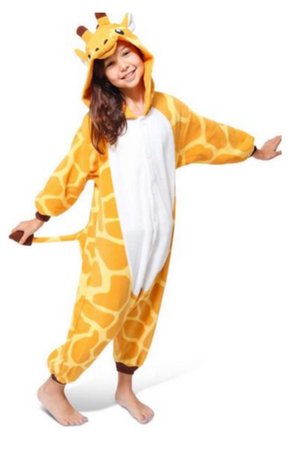 Cute Giraffe Kids Onesie | Onesieful