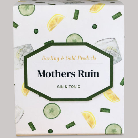 Mothers Ruin Gin & Tonic Candle