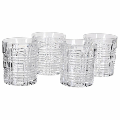 Single Chequers Tumblers Glass