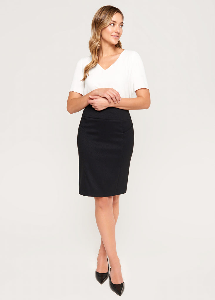 Chelsea Pencil Skirt with Side Pockets