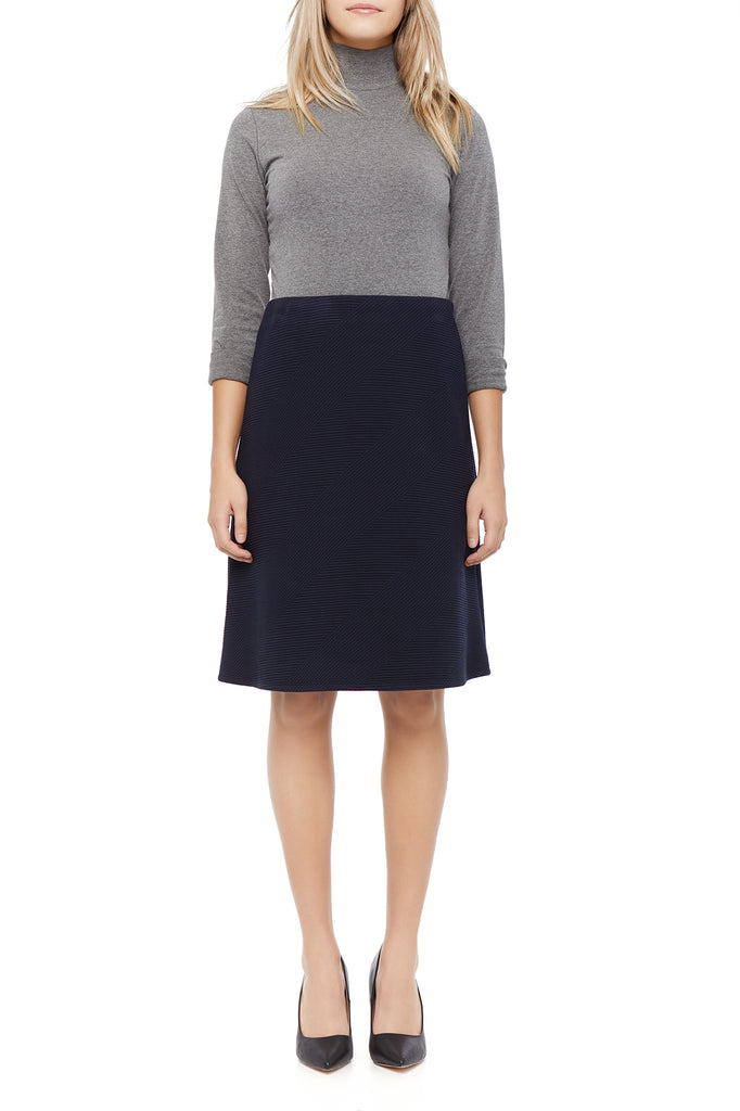 Melissa Knit Navy Skirt