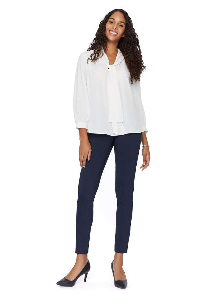 Tracey Navy Slimming Pant