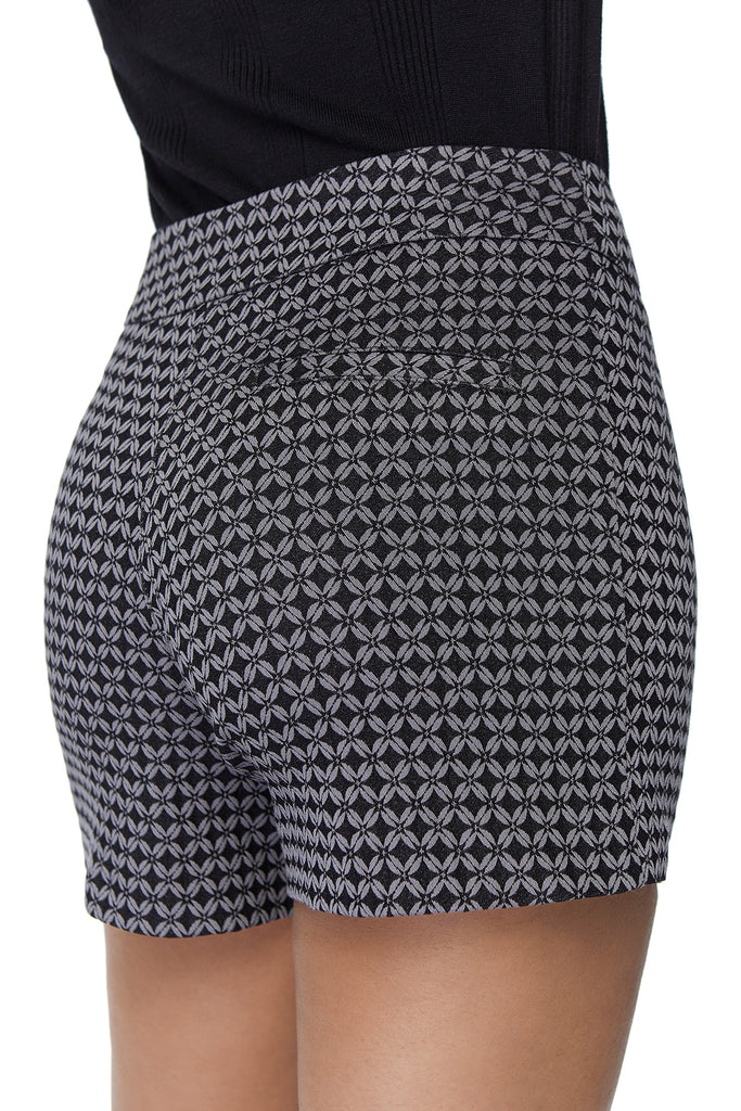 Lily Textured Grey Short