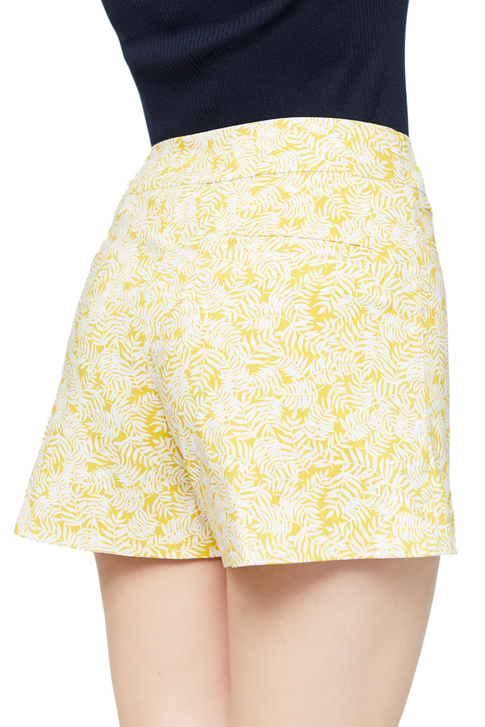 Lily Lemon Tropical Short