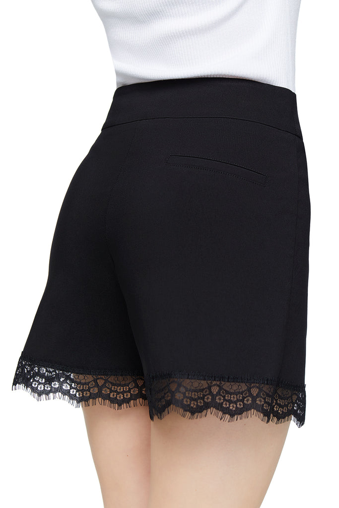 Chloe Black Lace Short