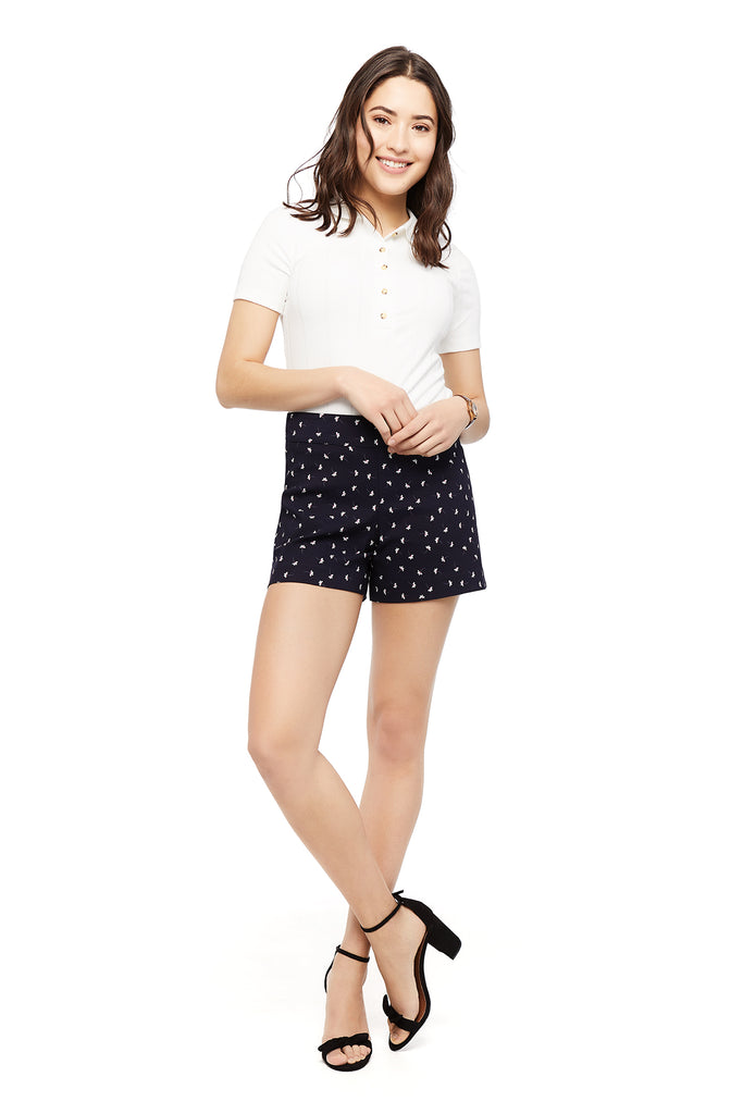 Preorder - Lily Ditsy Flower Short (Ships Aug 14)