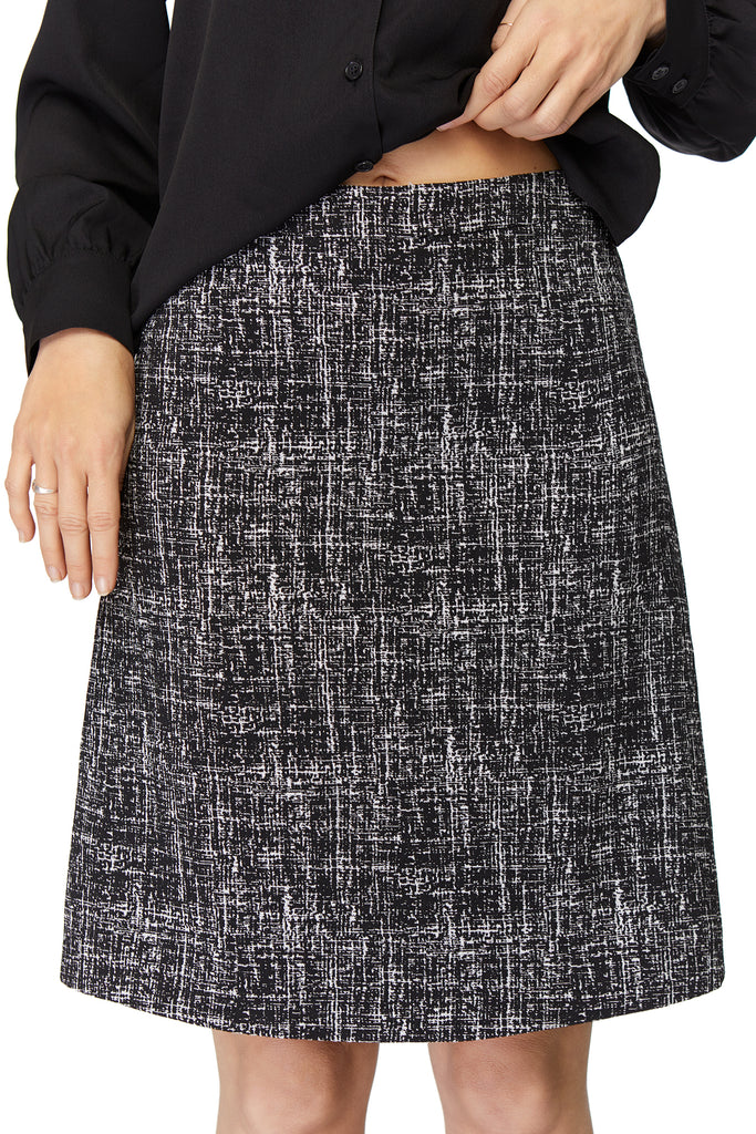 Emily Textured Sparkle Skirt