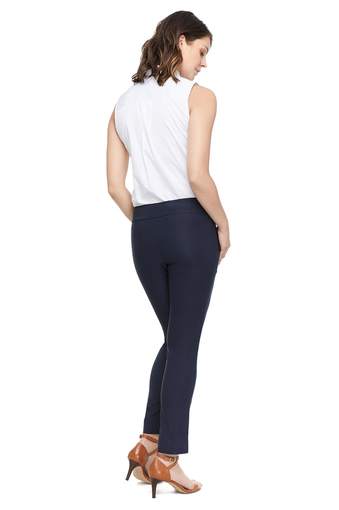 Liz Functional Pocket Navy Slimming Pant