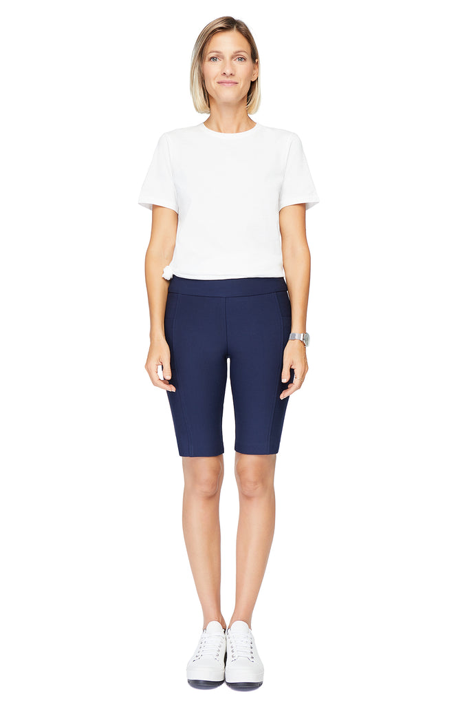 Ivy Navy Biker Short