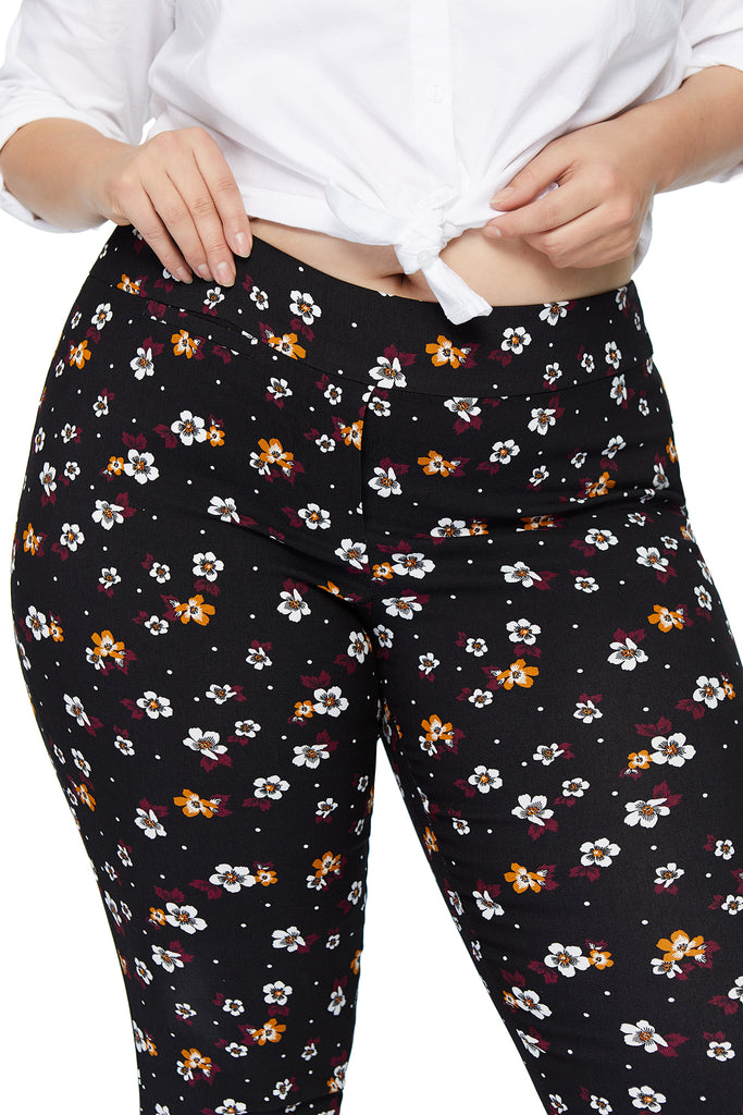Marlie Multi Flower Slimming Pant