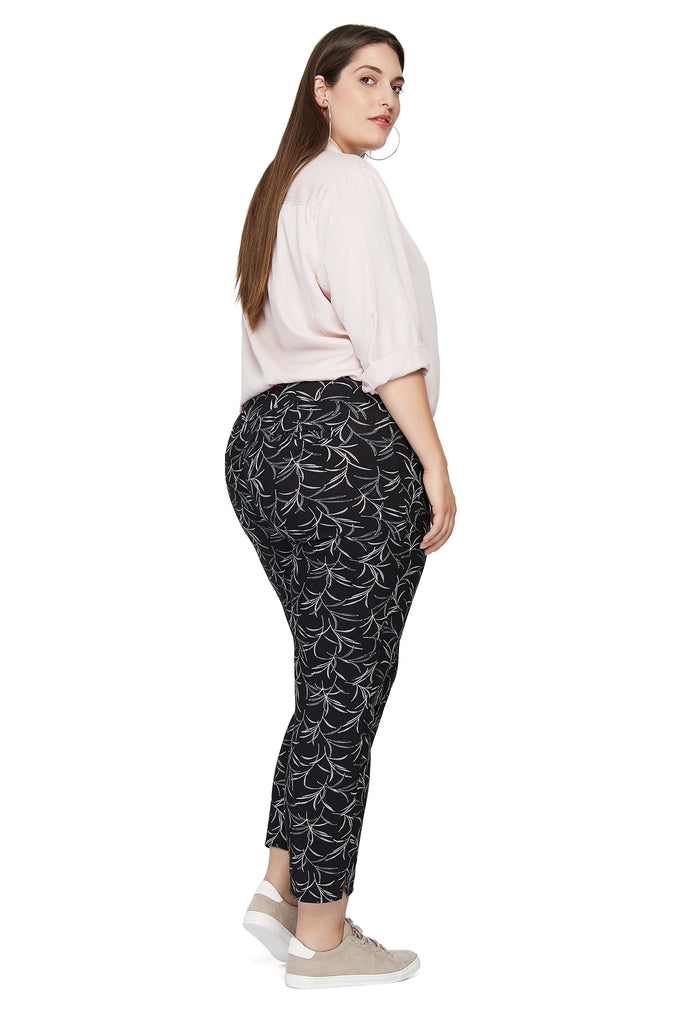 Marlie Palm Printed Slimming Pant