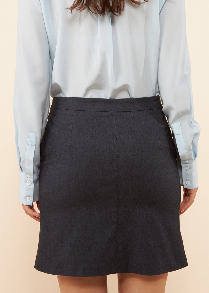 Lelia Denim Skirt with Pockets