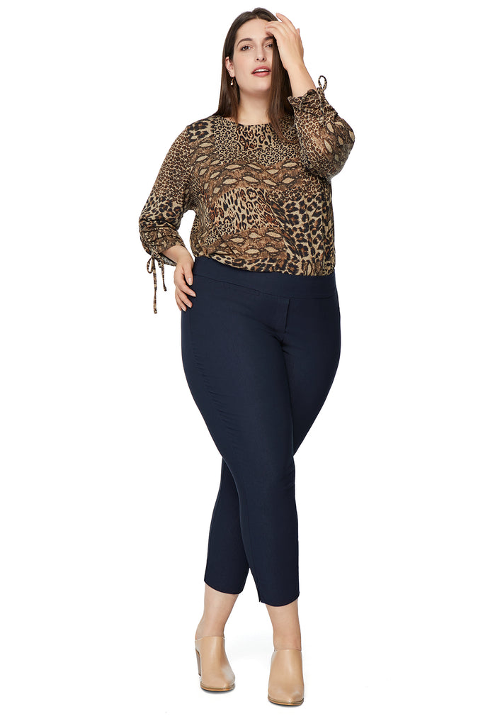Marlie Slimming Pant in Navy