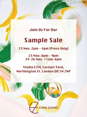 OPEN STUDIO SAMPLE SALE