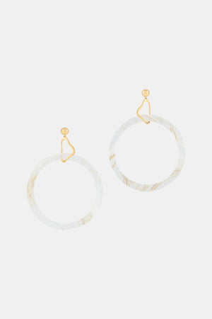 Drop Circle Earrings Sul