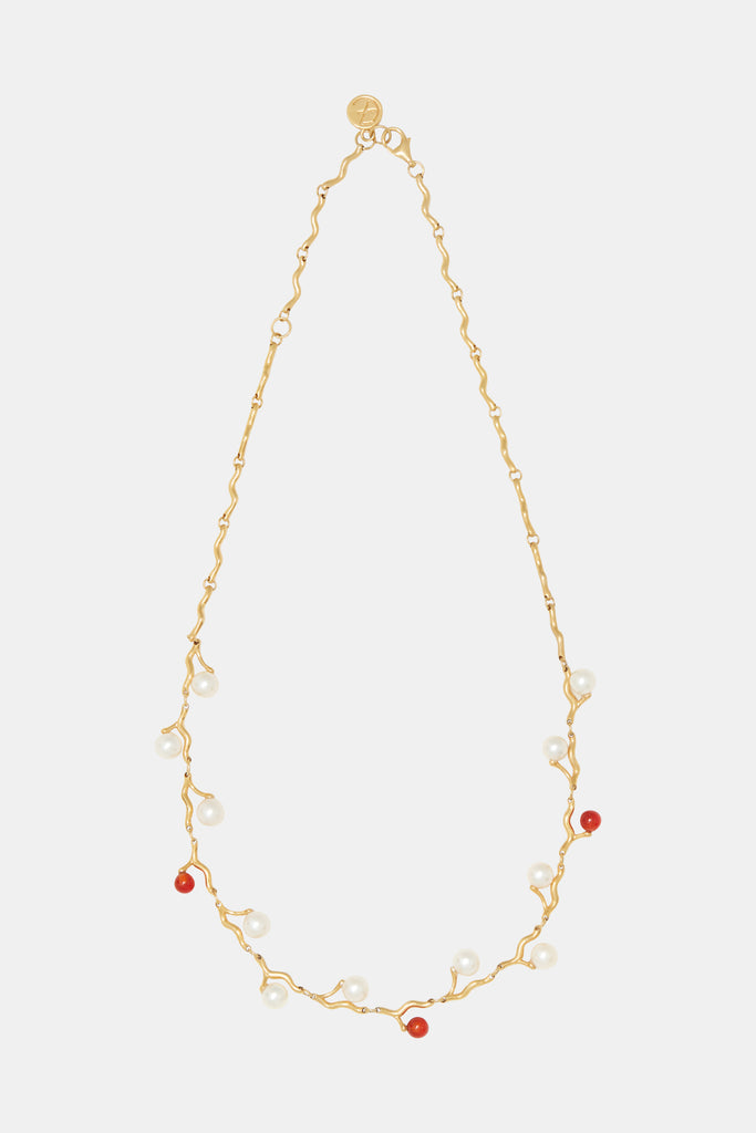 Klint Necklace Pearl- Fire