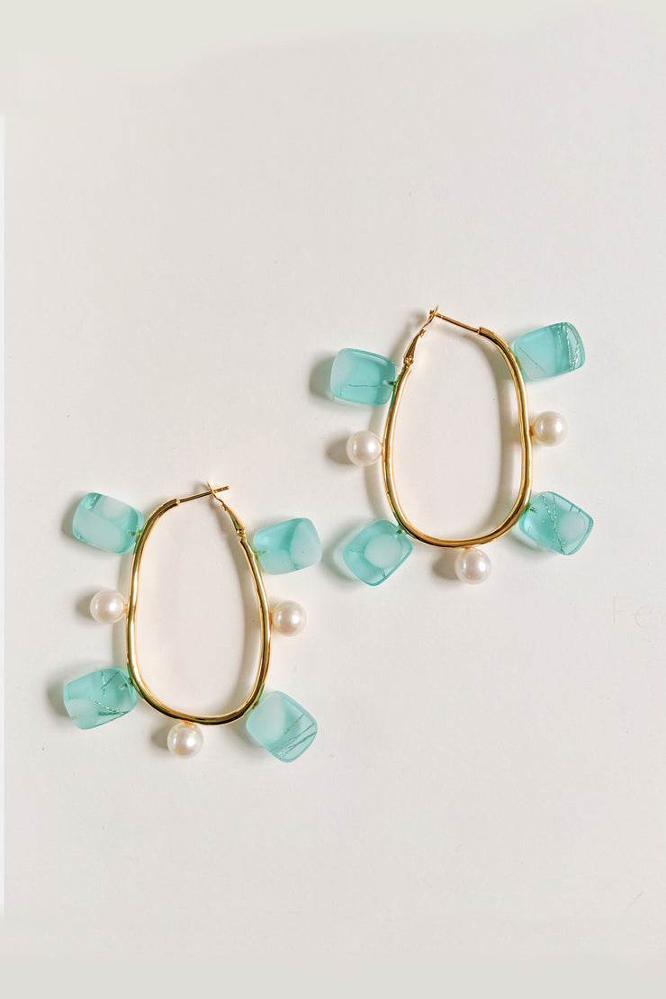Quentin Hoop Earrings