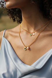 Primula Pearl Charm Necklace